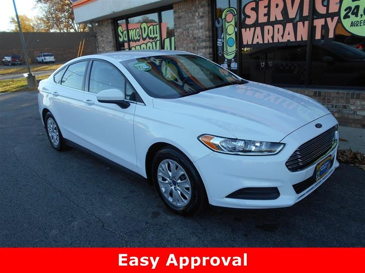 2013 Ford Fusion S J D Byrider