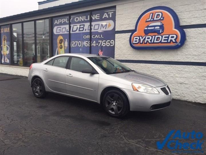 2009 Pontiac G6 w/1SA *Ltd Avail*
