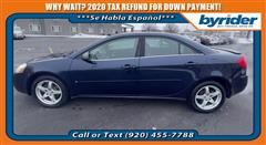 2009 Pontiac G6