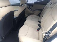 2011 Hyundai Elantra GLS PZEV